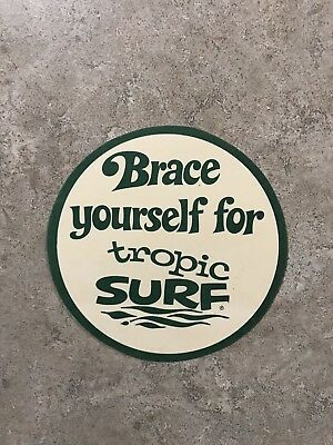 Brace Yourself For Tropic Surf Sticker