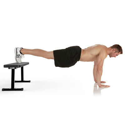Flat Exercise Bench Weight Lifting Training Bench Workout Equipment Bench Press