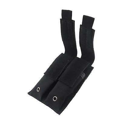 Tactical Molle Double Magazine Pouch Pistol Mag Holder For USUG 30 Round