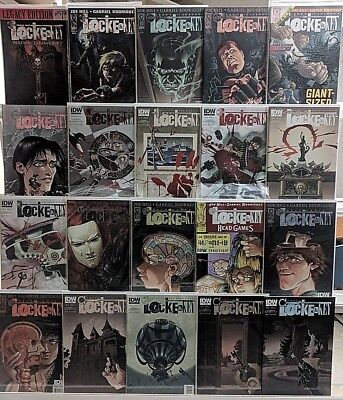 Locke & Key Comics Huge 20 Comic Book Collection Lot Set Run Books Box 1