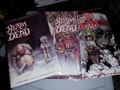 Realm Of The Dead Crossover Comics