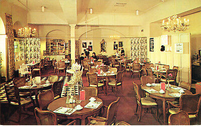 Vintage French Market Restaurant Postcard New Orleans Louisiana Unused