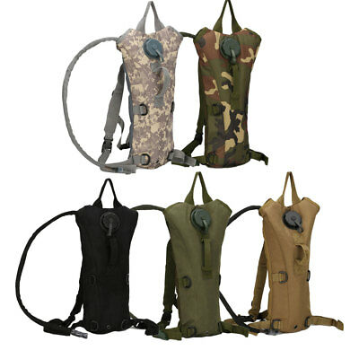 3L Water Bladder Bag Military Hydration Backpack Camelbak Pack Hiking Camping