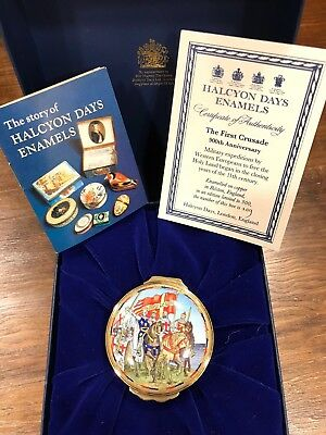 Halcyon Days Ltd Edition, The First Crusade, 900th Anniversary