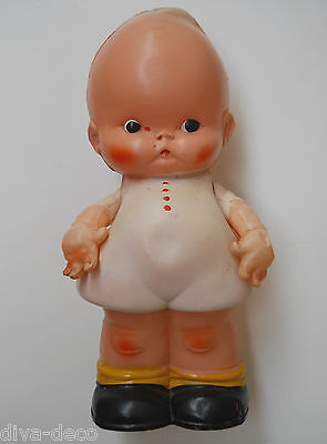RARE Vintage 1920's Celluloid Kewpie PALITOY Doll ~ Diddums  Mabel Lucie Attwell
