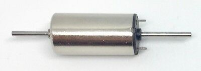 Two shaft Coreless micro motor 12V 8mm x 16mm. Worldwide exclusive product.