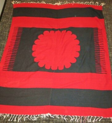 Handmade Northwest Coast American Indian Rug