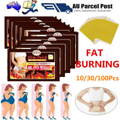 10/30Pcs  Patches Slimming Patch Slim Burn Fat Belly Detox Weight Loss Diet Pads