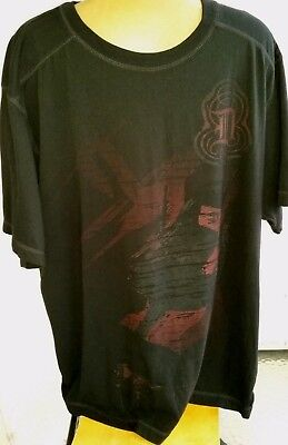 Harley Davidson Distressed Look And Faded Graphic TShirt  Color Black Size XL