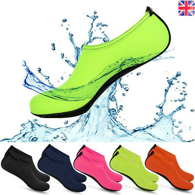 Mens Womens Non-slip Water Shoes Beach Swimming Diving Wetsuit Surf Aqua Socks