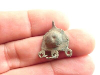 Scarce IRON AGE Hallstatt Culture ANCIENT Celtic Bronze Druid AMULET / TALISMAN