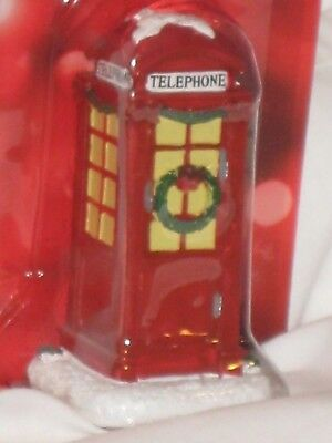 "St. Nicholas Square ""Phone Booth"" From The Village Collection Accessories"