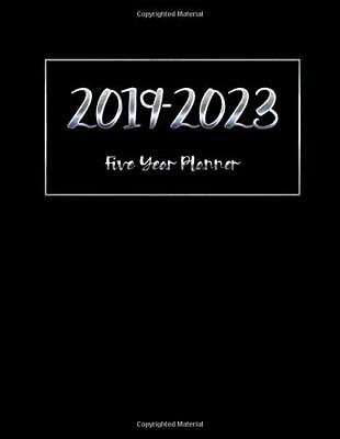 2019-2023 Five Year Planner: Calendar Monthly Planner Diary For 60 Months 5 Year