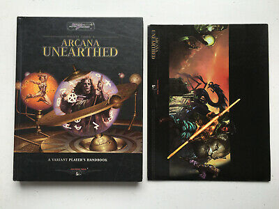 Sword & Sorcery Monte Cook's Arcana Unearthed Player's Handbook RPG WW16140