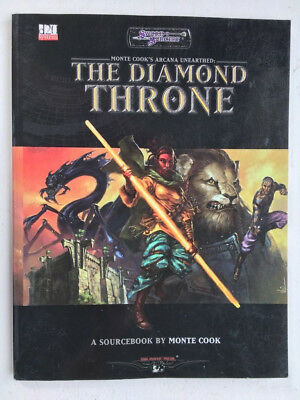 Sword & Sorcery Monte Cook's Arcana Unearthed The Diamond Throne WW16141