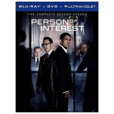 Person of Interest: The Complete Second Series Blu-ray/DVD, 2013 10-Disc SEALED