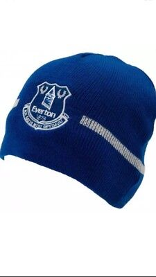 Everton Fc Adult Beanie Knitted Hat - Official Xmas Hat Christmas Gift
