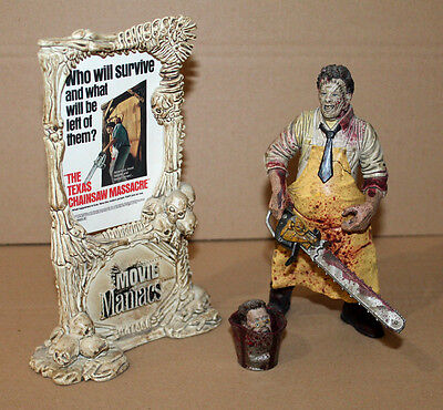 LEATHERFACE The Texas Chainsaw Massacre Movie Maniacs Bloody Rare Action Figure