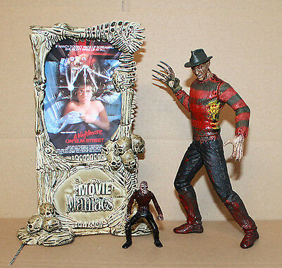 Movie Maniacs Bloddy Variant FREDDY KRUEGER Action Figure Mcfarlane Toys 1998