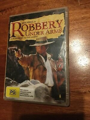 Robbery Under Arms DVD Australian Rare Deleted Sam Neill