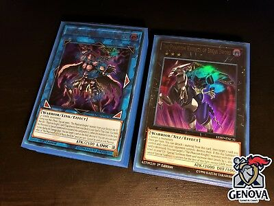 Yu-Gi-Oh! Phantom Knights Deck + New Sleeves  Rusty Bardiche Break Sword
