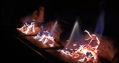 Glow Flame, Ember Effect, Glowing Flickering for gas, bio ethanol fireplaces.