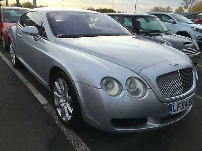 54 Bentley Continental Gt 6.0 W12 559 Coupe 11 Services *nav & Leather* Stunning