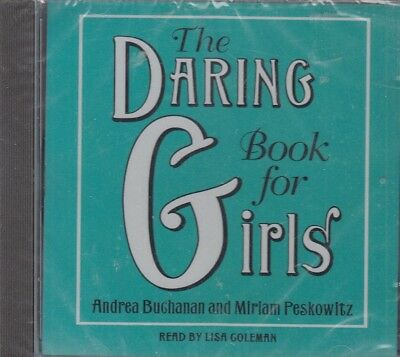 The Daring Book for Girls Andrea Buchanan CD Audio Book NEW Unabridged FASTPOST