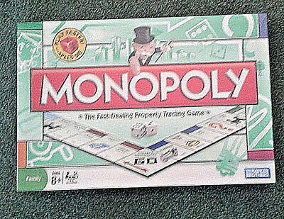 Monopoly The Traditional Family Fun Board Game, New sealed