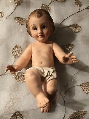 Baby Jesus Nativity Rubber Doll 8 Inches