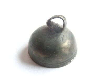 Ancient CELTIC Billon BELL Amulet / Pendant - Druid Talisman > La Tene Culture