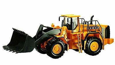 RC construction equipment wheel loader 1/28 scale electric radio control F/S NEW