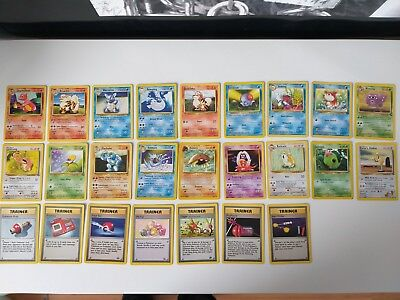 Pokemon 25 Karten Basis Englisch Pokemon Cards English Base NM
