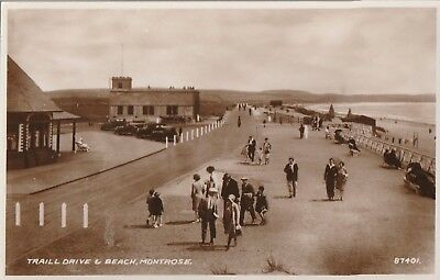 Angus, Montrose, Traill Drive and Beach.