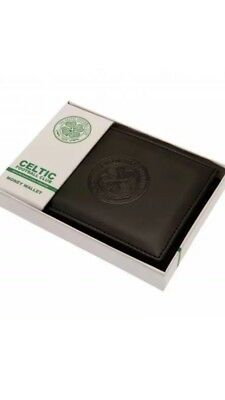 Glasgow Celtic FC Official Debossed Leather Wallet Christmas Gift Dad Father