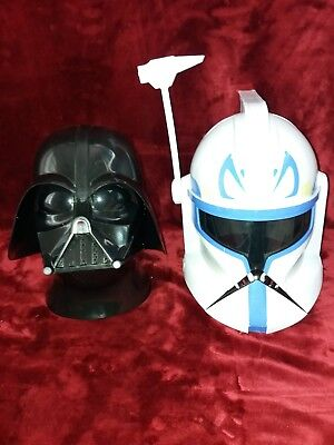 Star Wars Helme Darth Vader + Clone Rex Trooper