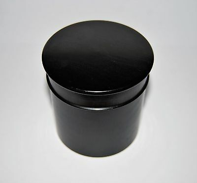 Edwardian Ebony Dressing Table Pot