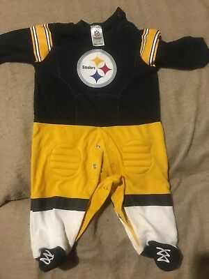 Pittsburgh Steelers Football One Piece 0-3 Months
