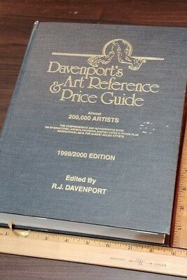 Davenport's Art Reference & Price Guide 1999-2000   1859 pgs Hardcover