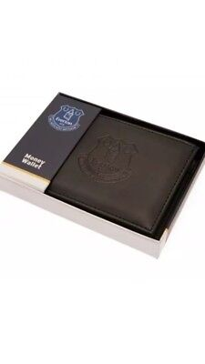 Everton FC Official Debossed Leather Wallet Christmas Gift Dad Father