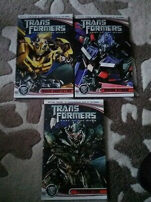 Transformers Idw dark of the moon 3 books