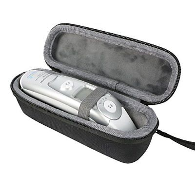 Innovo Braun Medical Forehead And Ear Dual Mode Thermometer Hard Travel Case New