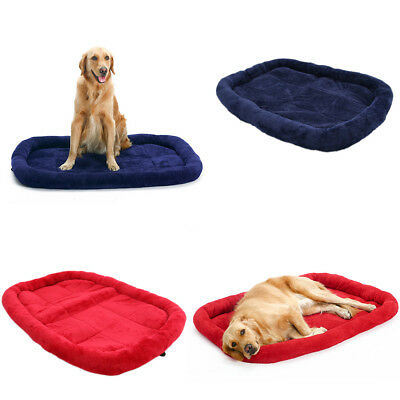 Dog Mattress Washable Thick Cage Crate Cotton Pet Puppy Travel Mat Extra Large