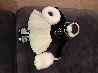 american girl doll winter outfit, pre owned