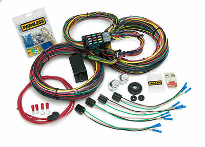 Painless Performance 10127 Mopar Color Coded Chassis Harness - 21 Circuits