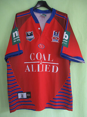 Maillot Rugby Newcastle Knights 2004 NRL Coal Allied Vintage jersey - L