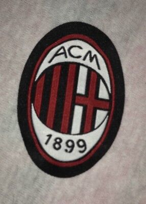 NEU!!! AC Mailand Milan Fan Patch Aufnäher Aufbügler Badge Sticker