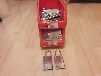 Job lot of 44 lock out hasps