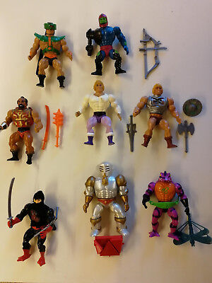 He-Man - Masters of the Universe 8 Figuren + Panthor