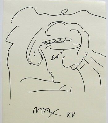 Peter Max - Signed - Drawing